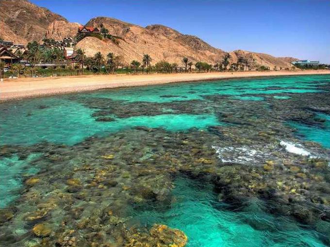 израиль фото красное море