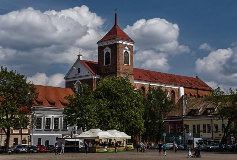 Каунас. Кафедральный собор Святых Петра и Павла
