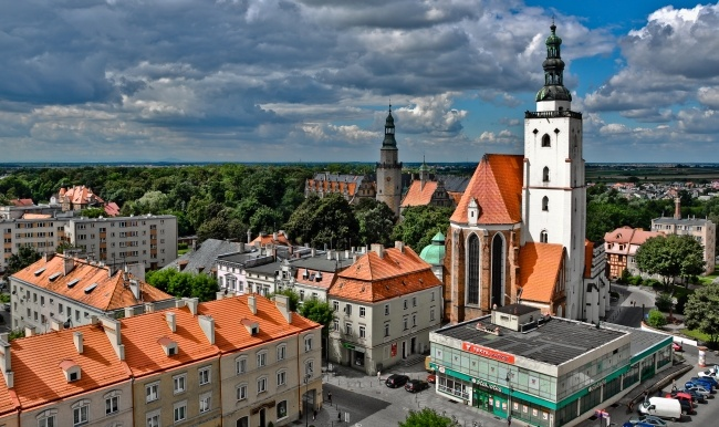 Старый центр Вроцлава