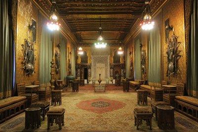 Румыния. Замок Пелеш. Турецкая гостиная