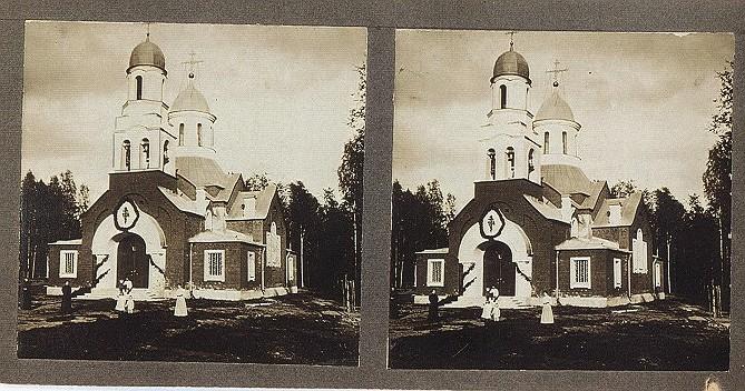 храма Казанской иконы Божией Матери в Сусанино