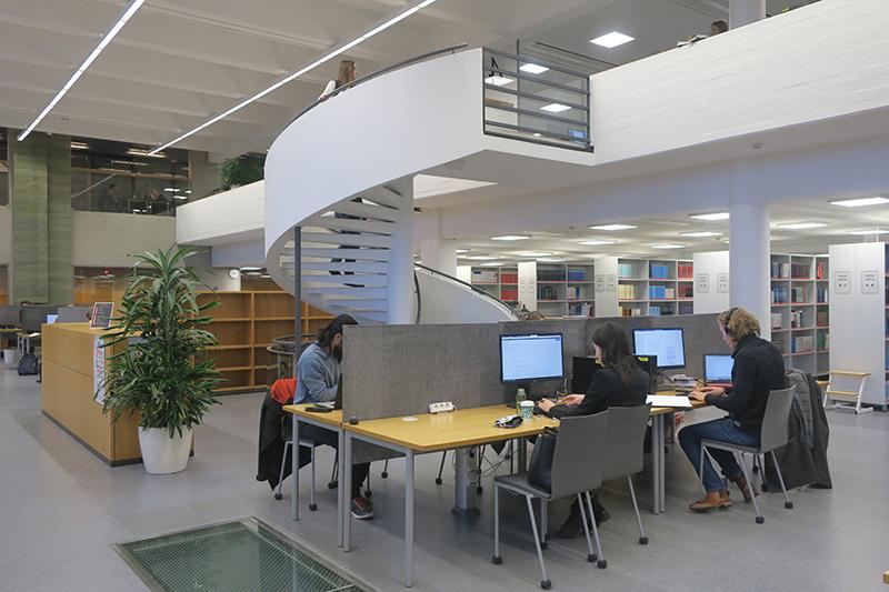 Лапеенрантский технологический университет. Библиотека