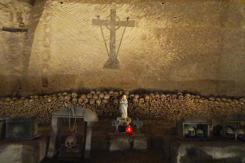 Подземное кладбище Фонтанелле
