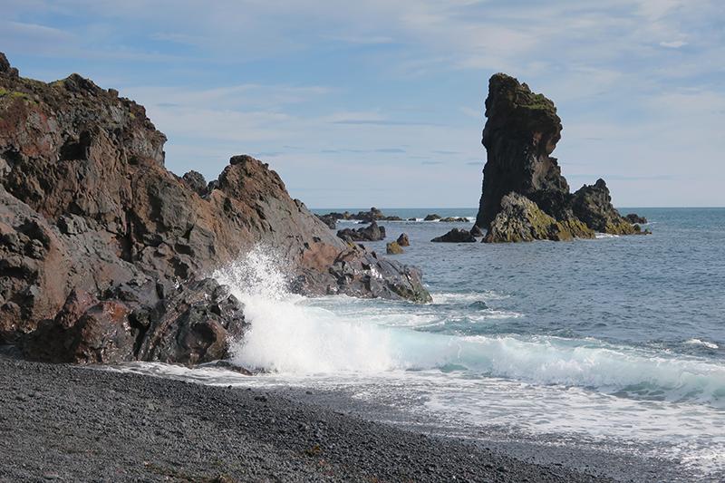 пляж Дьюпалонссандур (исл. Djúpalónssandur)