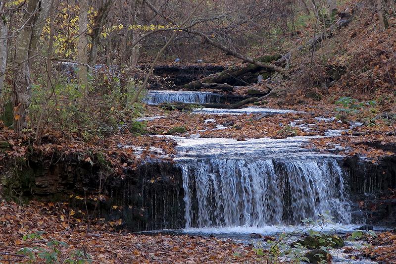 Водопады на реке Копорке