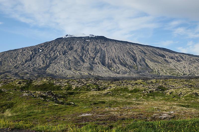 вулкан и ледник Снайфедльсйёкюдль (Snæfellsjökull)