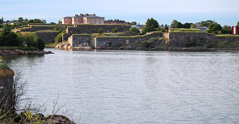 Комендантский остров - крепость Свеаборг