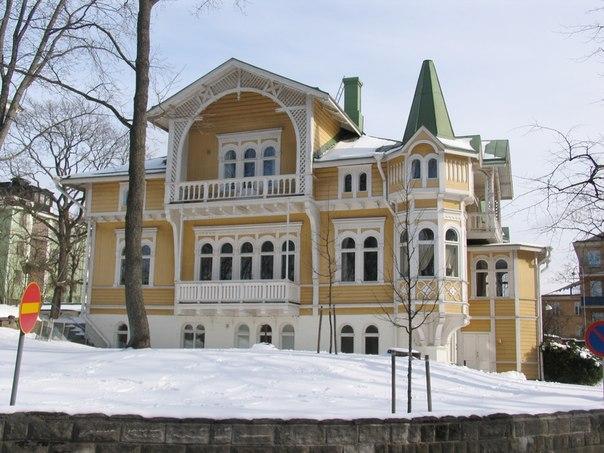 Парк Кайвопуйсто в Хельсинки