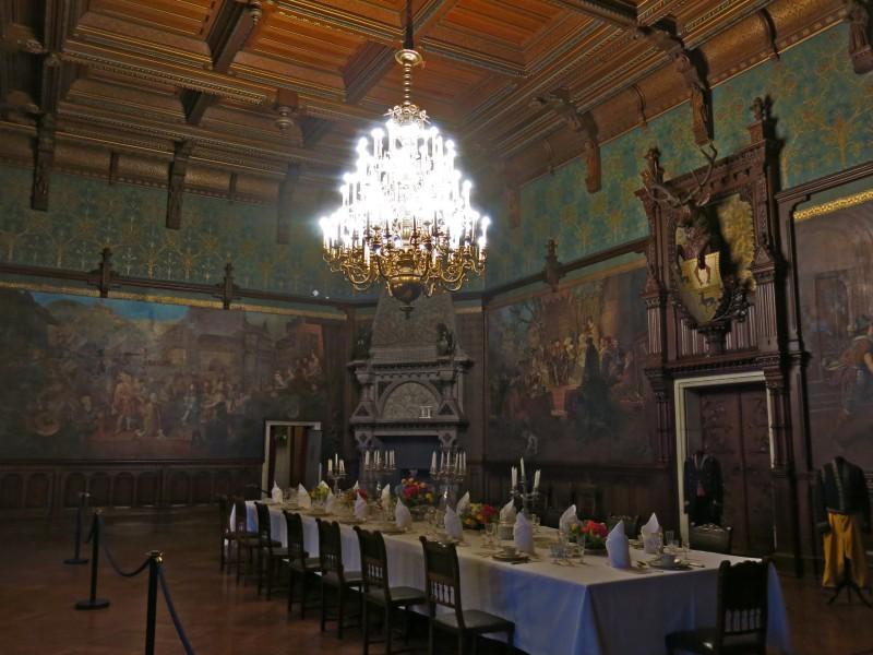 столовая замка Вернигероде