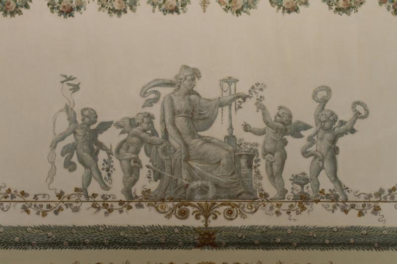 Каменноостровский дворец - росписи