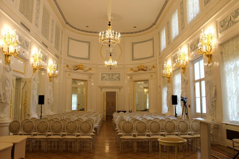 Каменноостровский дворец - парадный зал