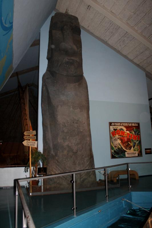 Музей Тура Хейердала - Кон-Тики на Бюгдёй в Осло, The Museum of Thor Heyerdahl - the Kon-Tiki on Bygdøy in Oslo Museet av Thor Heyerdahl - Kon-Tiki på Bygdøy i Oslo