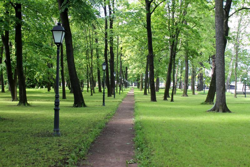 Каменноостровский дворец - парк