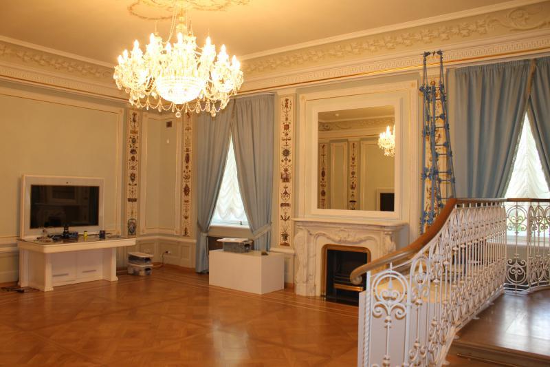 Каменноостровский дворец - голубой зал