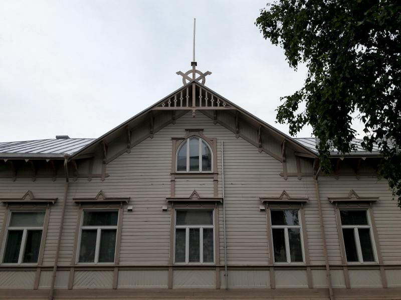 Северная Финлядния. Город Кеми