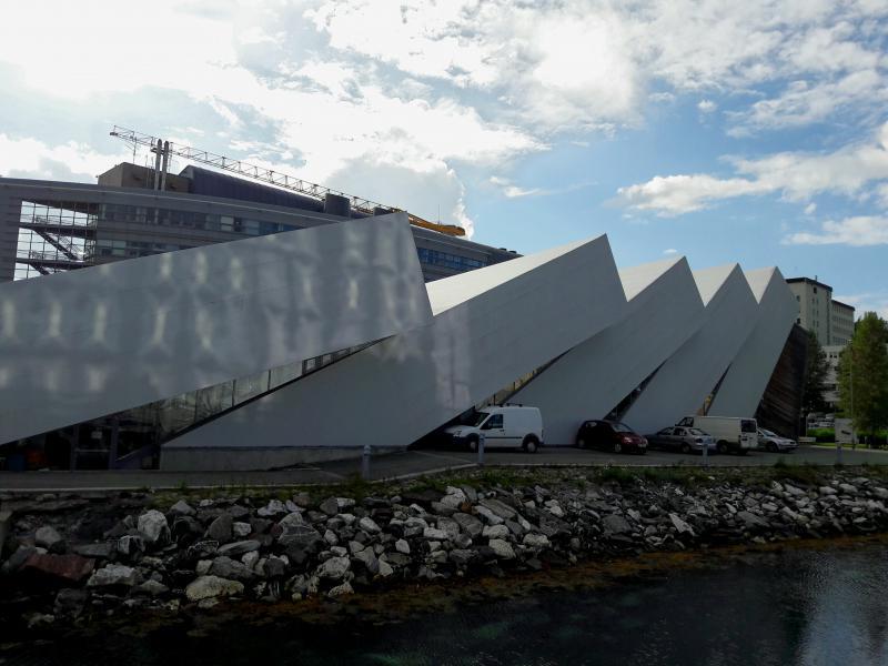Норвегия. Тромсё - музей «Полярия»