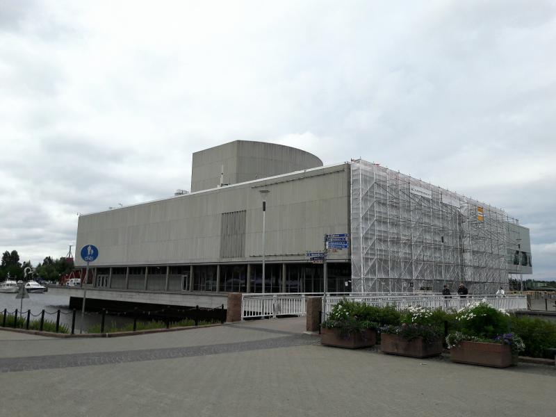 городской Театр и библиотека Оулу