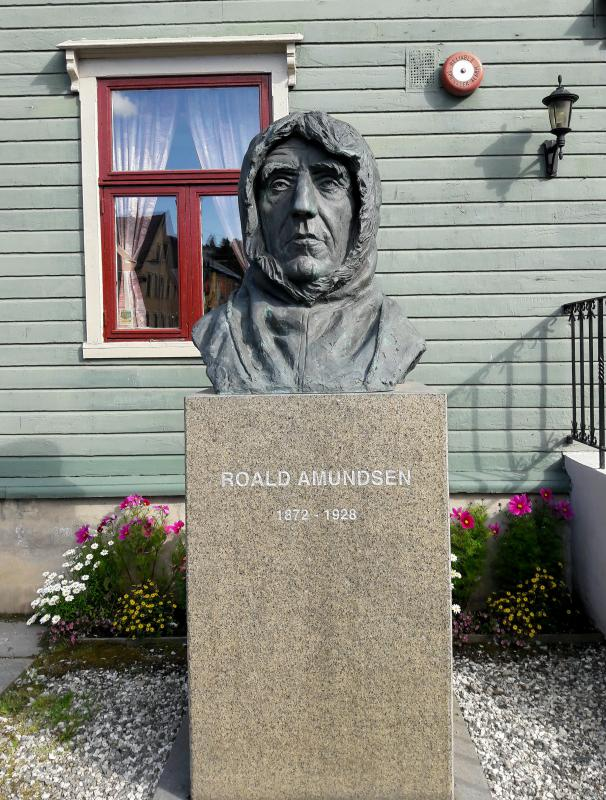 Норвегия. Тромсё - Руал Амундсен