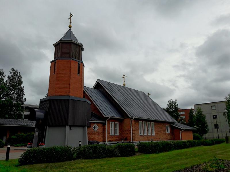 Православный Свято-Троицкий собор  в Оулу