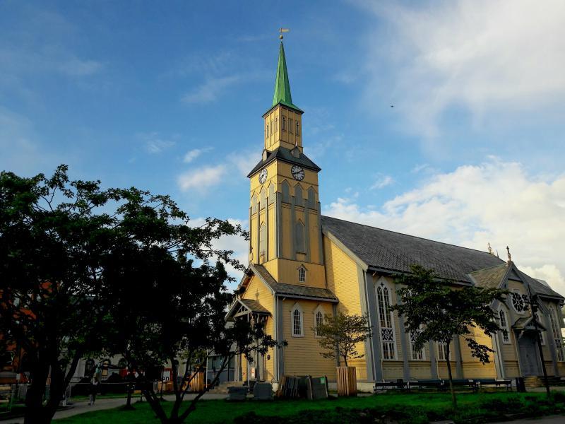 Кафедральный собор города Тромсё