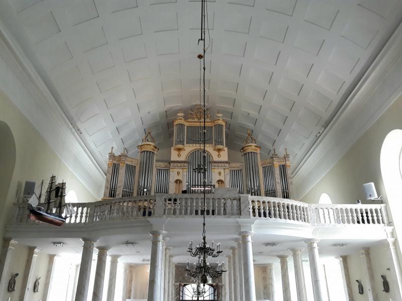 Орган собора в Оулу