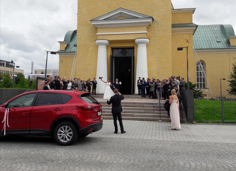 Свадьба в Оулу