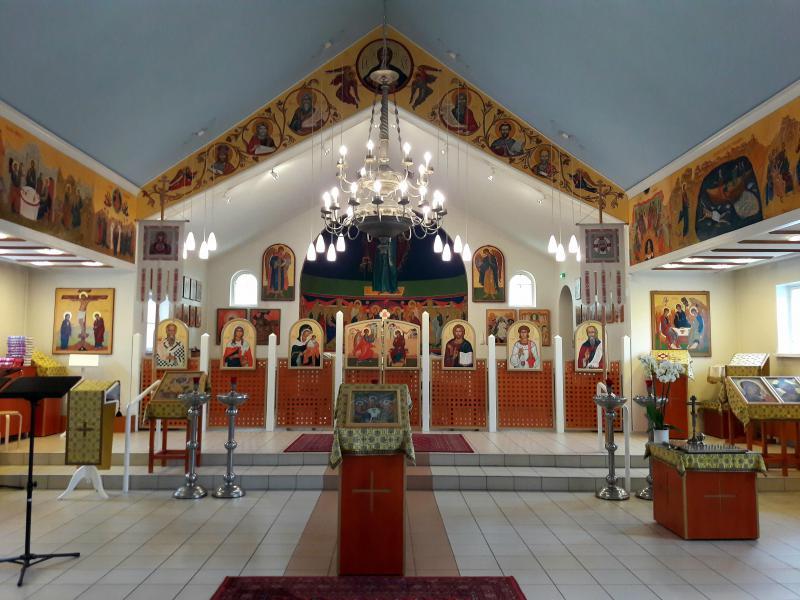 Православный Свято-Троицкий собор - интерьеры