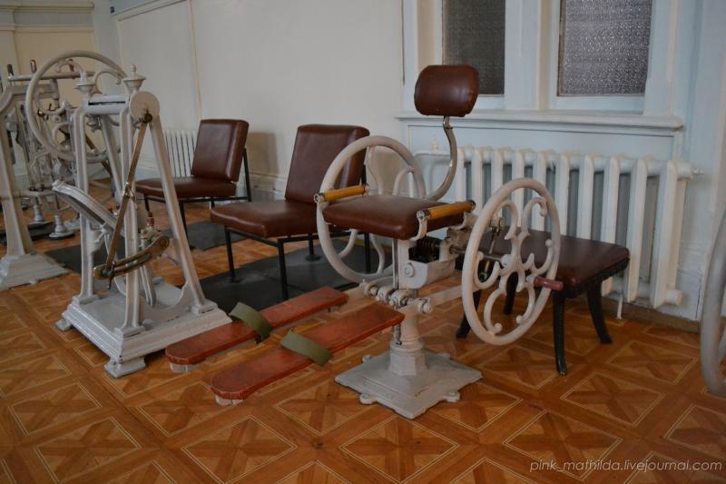 Механотерапия: тренажёрный зал, которому уже 117 лет.