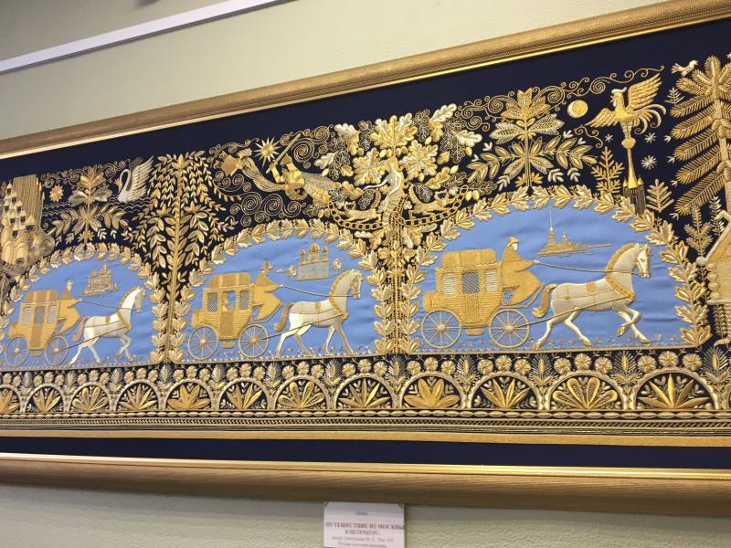 Музей золотного шитья в Торжке