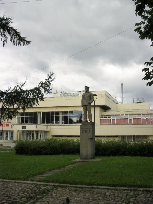 Памятник морякам Балтики