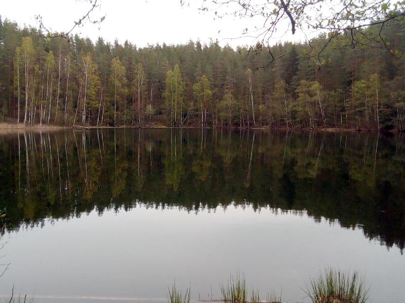 Карстовое озеро Блюдечко