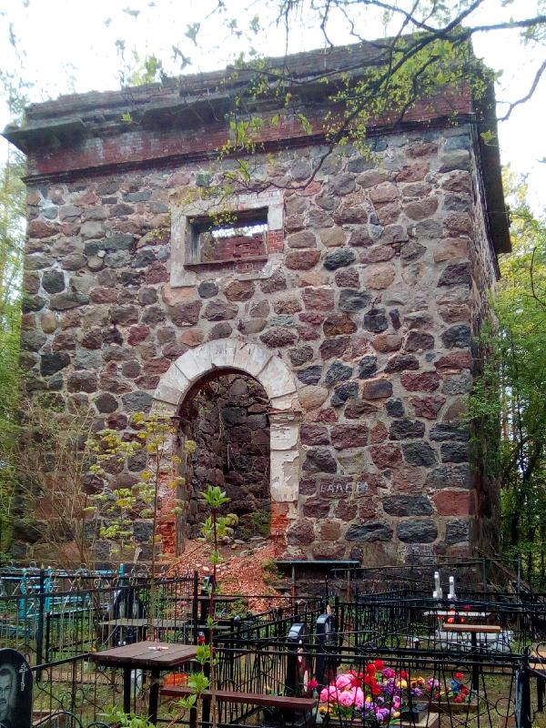 основание колокольни прихода Уусикиркко