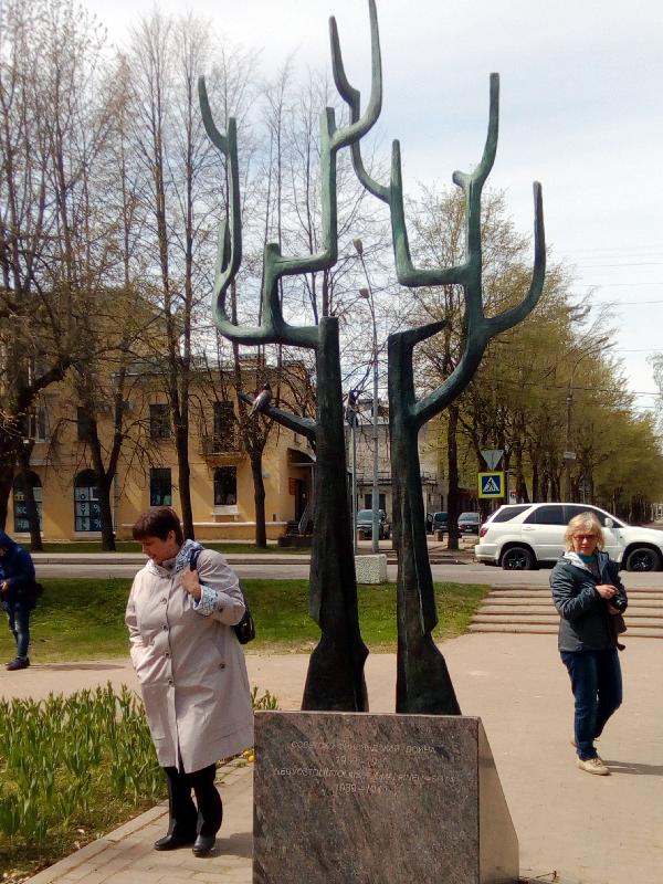 Зеленогорск, памятник павшим в русско-финской войне